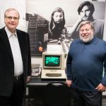 Paul Allen and Steve Wozniak met for the first time on Wednesday at Allen's museum in Seattle